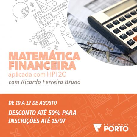 Curso de Matemática Financeira - Aplicada com HP 12c