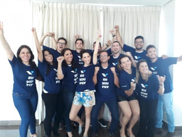 Encerramento da turma do MBA em Gestão Empresarial em Ji-Paraná