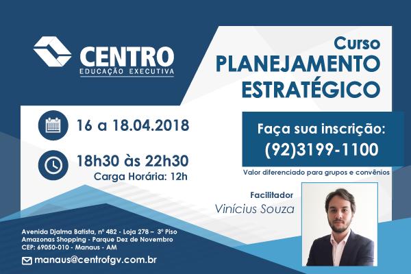 Curso: Planejamento Estratégico - Vinícius Souza